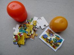 Collector Cadeau Kinder Surprise Réf K02 N° 110 Puzzle + Sa Notice BPZ - Mountables