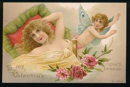 CARTE GAUFREE  - TO MY VALENTINE - LOVE'S ERRAND - Valentinstag