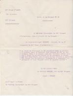 Citation à L'Ordre De La Brigade D' Infanterie / Ordre 21 /Sous Lieutenant Récompensé / Attitude Héroïque / Guerre 14-18 - Army & War