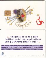 UK - Gemplus Demo Card, Chip 1 - United Kingdom