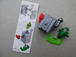 Collector Cadeau Kinder Surprise Réf K02 N° 13 + Sa Notice Bpz - Mountables