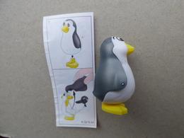 Collector Cadeau Kinder Surprise Réf K02 N° 44 + Sa Notice Bpz - Mountables
