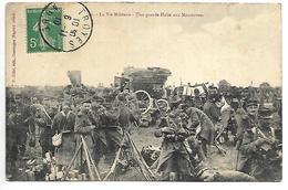 MILITAIRE - La Vie Militaire - Une Grande Halte Aux Manoeuvres - Manovre