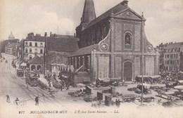 CPA Boulogne Sur Mer, L'Eglise Saint Nicolas (pk46274) - Boulogne Sur Mer