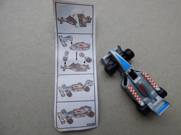 Collector Cadeau Kinder Surprise Réf K02 N° 88 + Sa Notice Bpz - Mountables