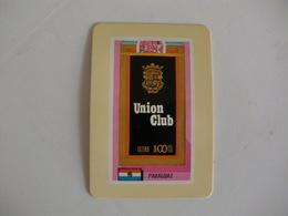 Tobacco/ Tabac/ Cigars/ Cigarettes/ Cigarrillos Paraguay Union Club Portugal Portuguese Pocket Calendar 1987 - Small : 1981-90