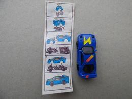 Collector Cadeau Kinder Surprise Réf K02 N° 87 + Sa Notice Bpz - Mountables