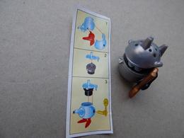Collector Cadeau Kinder Surprise Réf K02 N° 48 + Sa Notice Bpz - Mountables