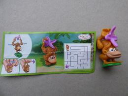 Collector Cadeau Magic Kinder Surprise Réf Un042 + Sa Notice Bpz - Mountables