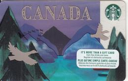 CANADA - Canada, Starbucks Card, CN : 6147, Unused - Gift Cards