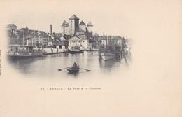ANNECY - Le Port Et Le Château - Annecy