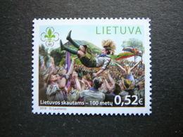 100th Anniversary Of Lithuanian Scouts # Lietuva Litauen Lituanie Litouwen Lithuania # 2018 MNH # - Lituanie
