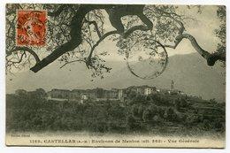 CPA - Carte Postale - France - Castellar - Environ De Menton - Vue Générale - 1913 (CP3308) - Autres Communes