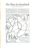 Die Rune Der Landschaft (von Dr.Alfred Weise) / Artikel, Entnommen Aus Zeitschrift /1936 - Books, Magazines, Comics