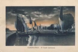 Cesenatico ... Il Canale/notturno/ 1927 - Italia