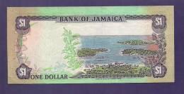JAMAICA  1987,   Banknote,  Very Fine Used.  . 1 Dollar - Jamaica