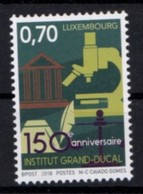 LUXEMBOURG , 2018, MNH,EDUCATION, INSTITUTE GRAND DUCAL,  1v - Stamps