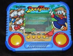 Rare Jeux Vidéo Portable Disney Ducktales Picsou état De Marche 1990 Tiger - Consoles De Jeux