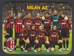 2008-FOOTBALL/SOCCER-MILAN AC-RUSSIAN CALENDAR - Small : 2001-...
