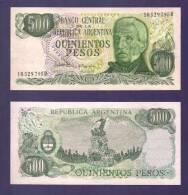 ARGENTINA 1977,  Banknote,  UNC, 500 Pesos Argentina Km303 - Argentina