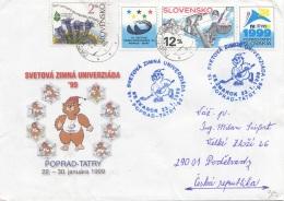 SLOVENSKO 1999 - Schöne 4 Fach Frankierung Auf Brief - Slowakische Republik