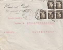 ITALIEN 1939 - 5 Fach MEF Auf Firmen-Brief, Gel.v. ? > Tures Bolzano - Ganzsachen