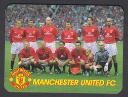 2002-FOOTBALL/SOCCER-MANCHESTER UNITED FC-RUSSIAN CALENDAR - Small : 2001-...