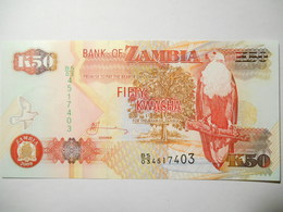 ZAMBIA 50  KWACHA 2009 UNC - Sambia