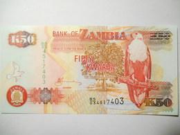 ZAMBIA 50  KWACHA 2009 UNC - Zambia
