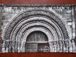 17 - SAINTES - Tympan Du Portail Central, Abbaye Aux Dames XI Et XII° Siècle. (CPSM) - Saintes