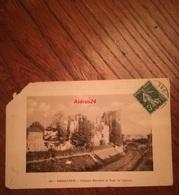 CPA 1911 Dordogne - 16 Périgueux - Château Barrière Et Tour De Vésonne - En L'état - Périgueux