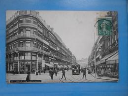 Carte Postale Lille Rue Faidherbe Tramways - Lille