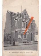 GOMMEGNIES (Nord) - Le Bureau De Poste - Circulée En 1908 - Altri Comuni