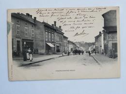 C.P.A. : 54 FRANCHEPRE JOEUF, Une Rue , Animé, Timbre En 1904 - Altri Comuni