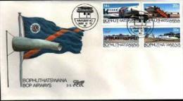 BOPHUTHATSWANA, 1986, Bop Airways,  First Day Cover Mint 2.5 - Bophuthatswana