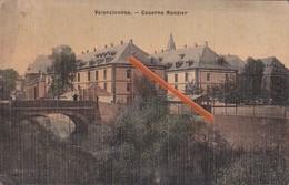 VALENCIENNES - Caserne Ronzier - Superbe Carte Colorée Et Circulée En 1908 - Valenciennes