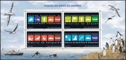 TAAF 2017 Bloc Feuillet Logos Neuf ** - Blocs-feuillets