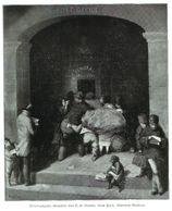Briefausgabe (Gemälde Von D.B . Bluethe)  / Druck, Entnommen Aus Zeitschrift /1936 - Bücher, Zeitschriften, Comics