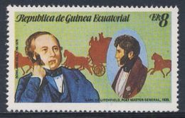 Equatorial Guinea / Guinee Equatorial 1979 Mi 1455 ** Earl Of Litchfield, Postmaster General (1835) - Sir Rowland Hill - Post