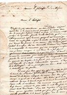 40 - LANDES . LETTRE DE DOAZIT À SAINT-SEVER LE 8 MAI 1842 - Réf. N°58F - - Manuscripts