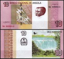 Angola - 10 Kwanzas 2012 UNC - Angola
