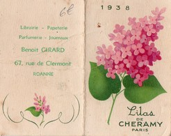 LILAS DE CHERAMY  PARIS - 1938   BENOIT GIRARD ROANNE - Calendars