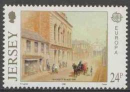 Jersey 1990 Mi 511 ** Head Post Office, Halkett Place (1890) / Postamt  / Bureau De Poste – Europa Cept - Post