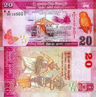 Sri Lanka - 20 Rupees 2015 UNC - Sri Lanka