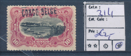 BELGIAN CONGO 1909 ISSUE COB 31 L1 LH - 1894-1923 Mols: Mint/hinged