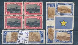 BELGIAN CONGO NATIONAL PARKS COB 196A + 203/8 MNH - Belgisch-Kongo