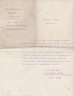 Citation à L'Ordre De La Brigade D' Infanterie / Ordre 25 /Sous Lieutenant Récompensé / Attitude Héroïque / Guerre 14-18 - Army & War