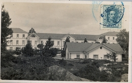 1930 , LUGO , TARJETA POSTAL CIRCULADA , MAT. AZUL , GUITIRIZ - MADRID , LLEGADA - 1889-1931 Regno: Alfonso XIII