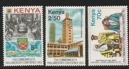 1983 Kenya Commonwealth Parliament Complete Set Of 3 MNH - Kenya (1963-...)
