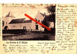 Les Environs De Saint Ghislain - Ferme Saint Moulin HERCHIES - Superbe Carte - Jurbise